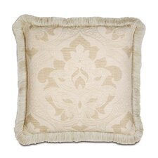 Brookfield Polyester Decorative Pillow with Brush Fringe