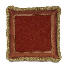 <strong>Eastern Accents</strong> Botham Polyester Straffan Cayenne Mitered Decorative Pillow