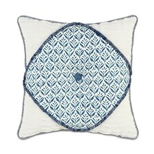 Ceylon Polyester Kari Iris Diamont Tufted Decorative Pillow