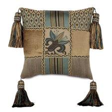 Chapman Polyester Patchwork Decorative Pillow