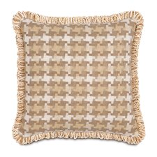 <strong>Eastern Accents</strong> Churchill Polyester Colt Palomino Decorative Pillow with Loop Fringe
