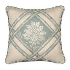 Carlyle Polyester Diamond Insert Square Decorative Pillow