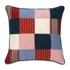 Carter Polyester Patchwork Decorative Pillow