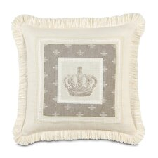 <strong>Eastern Accents</strong> Daphne Polyester Border Collage Decorative Pillow