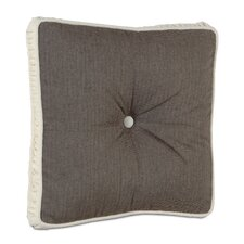 <strong>Eastern Accents</strong> Daphne Polyester Flint Boxed and Tufted Decorative Pillow