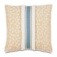 Ella Polyester Tulah Decorative Pillow with Border