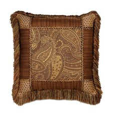 <strong>Eastern Accents</strong> Gershwin Collage Fringe Decorative Pillow