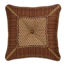 <strong>Eastern Accents</strong> Gershwin Devina Mitered and Tufted Decorative Pillow