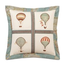 <strong>Eastern Accents</strong> Kai Hand Painted Baloons Flange Decorative Pillow