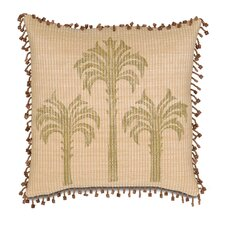 Kiawah Calappa Beach Hand Painted Decorative Pillow