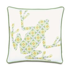 Pinkerton Polyester Eli Frog Decorative Pillow