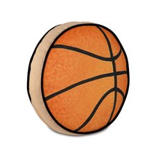 <strong>Eastern Accents</strong> Pinkerton Eli Polyester Basketball Decorative Pillow