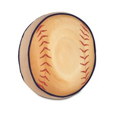 Pinkerton Eli Polyester Baseball Decorative Pillow