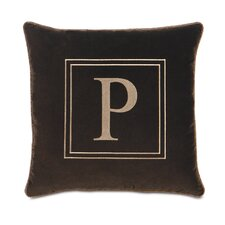 Powell Polyester Jackson Decorative Pillow with Monogram