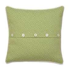 Portia Cato Polyester Decorative Pillow with Buttons