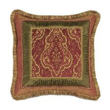 Vaughan Polyester Border Collage Decorative Pillow