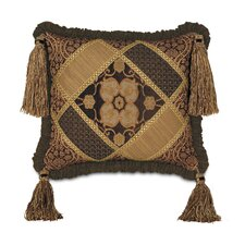 <strong>Eastern Accents</strong> Garnier Diamond Tassels Collage Decorative Pillow