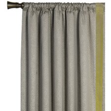Caldwell Garza Pebble Curtain Single Panel