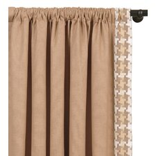 Churchill Filly Straw Curtain Single Panel