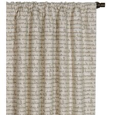 <strong>Eastern Accents</strong> Daphne Grenoble Cotton Rod Pocket Curtain Single Panel