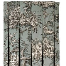 Vera Cotton Pleated  Curtain Single Panel