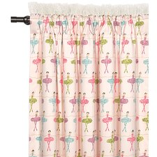 <strong>Eastern Accents</strong> Matilda Cotton Rod Pocket Curtain Single Panel