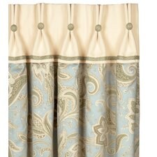 Southport Cotton Pleated  Curtain Single Panel