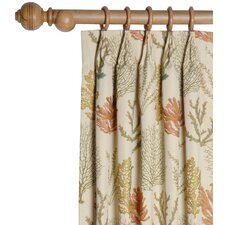 Caicos Pleated Curtain Single Panel