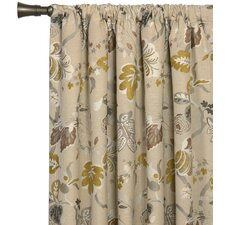 Caldwell Cotton Rod Pocket Curtain Single Panel