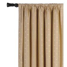 Iris Silk Rod Pocket Curtain Single Panel