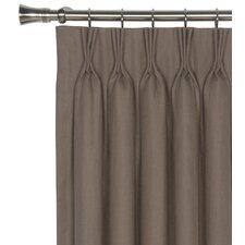 <strong>Eastern Accents</strong> Breeze Pure Linen Cotton Pleated Curtain Single Panel