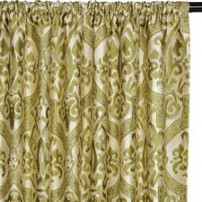 Jaya Cotton Rod Pocket  Curtain Single Panel