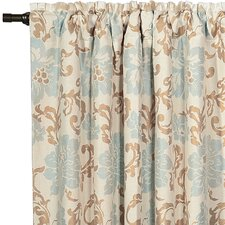 Kinsey Cotton Rod Pocket Curtain Single Panel
