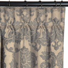 Lancaster Cotton Pleated Curtain Single Panel