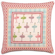 <strong>Eastern Accents</strong> Matilda Polyester Border Collage Decorative Pillow