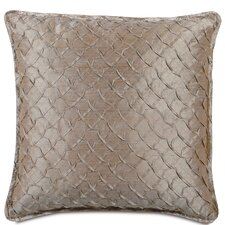 Mica Polyester Decorative Pillow with Mini Flange