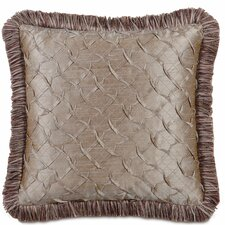 <strong>Eastern Accents</strong> Mica Polyester Decorative Pillow with Brush Fringe