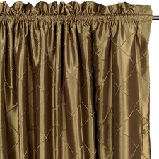 Whitaker Chester Cotton Rod Pocket Curtain Single Panel