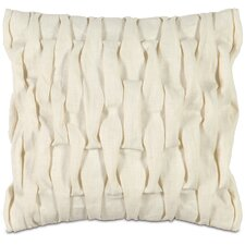 <strong>Eastern Accents</strong> Daphne Polyester Breeze Decorative Pillow with Pleats