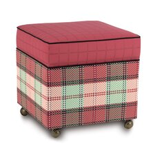Pinkerton Kaboodle Cube Ottoman