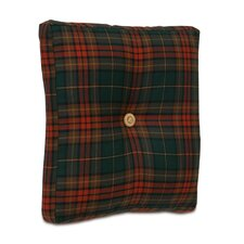 Home for The Holidays Plaid Box Decorative Pillow