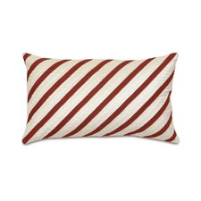Candy Cane Peppermint Candy Decorative Pillow