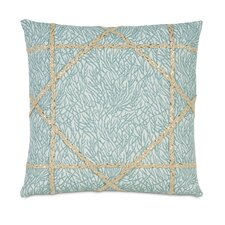 Coastal Tidings Coastal Weaving Decorative Pillow