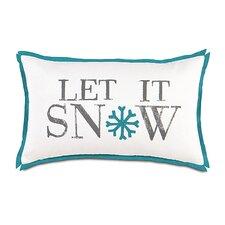 North Pole Snow Day Decorative Pillow