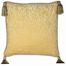 <strong>Eastern Accents</strong> Antigua Polyester Augustine Decorative Pillow with Tassels