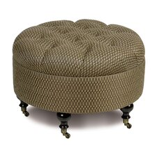 <strong>Eastern Accents</strong> Sullivan Cotton Ottoman