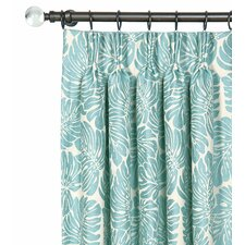 Capri Pinch Pleat Curtain Single Panel