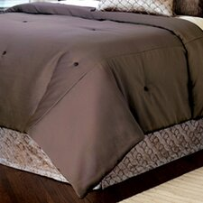 Galbraith Marion Slate Button-Tufted Comforter
