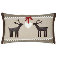 Nordic Holiday Folk Love Pillow