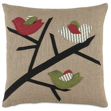 <strong>Eastern Accents</strong> Fa La La 3 Calling Birds Pillow